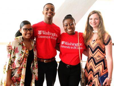 Washington University Admits