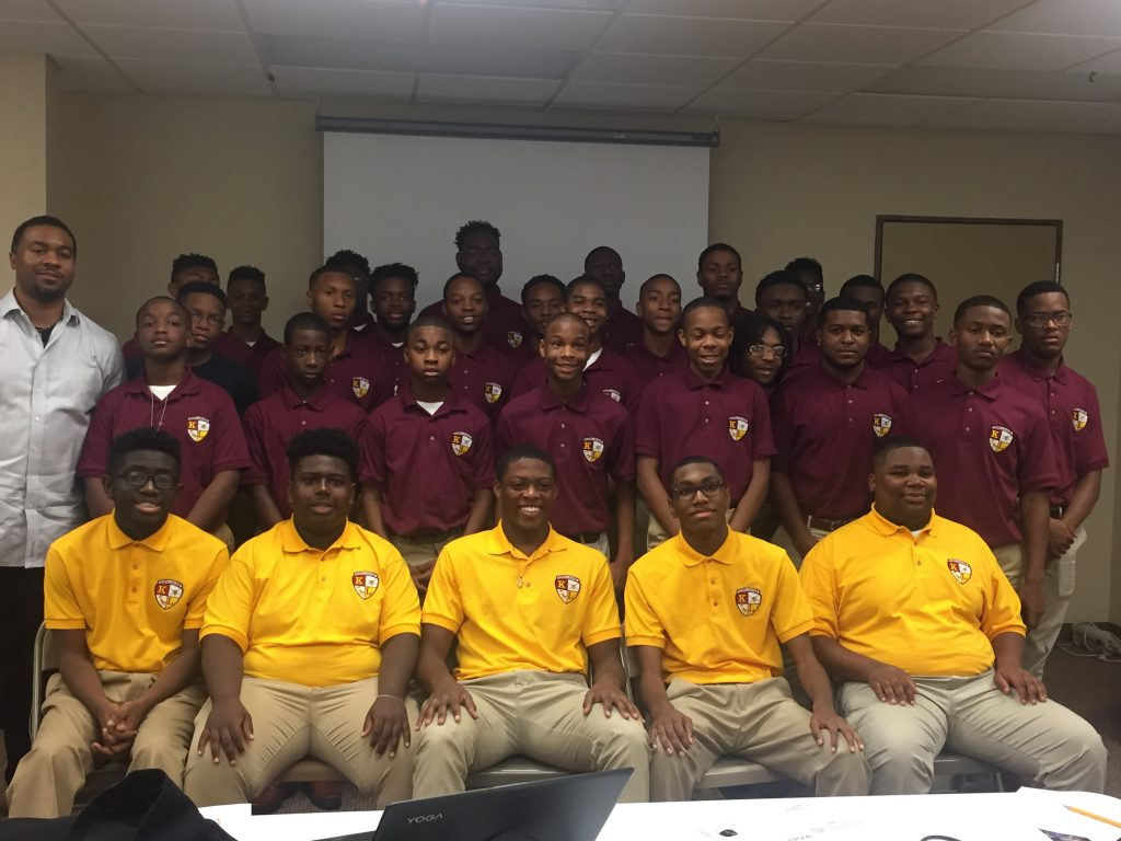 Collaborating with the Kappa League of Little Rock - A College Preparatory initiative