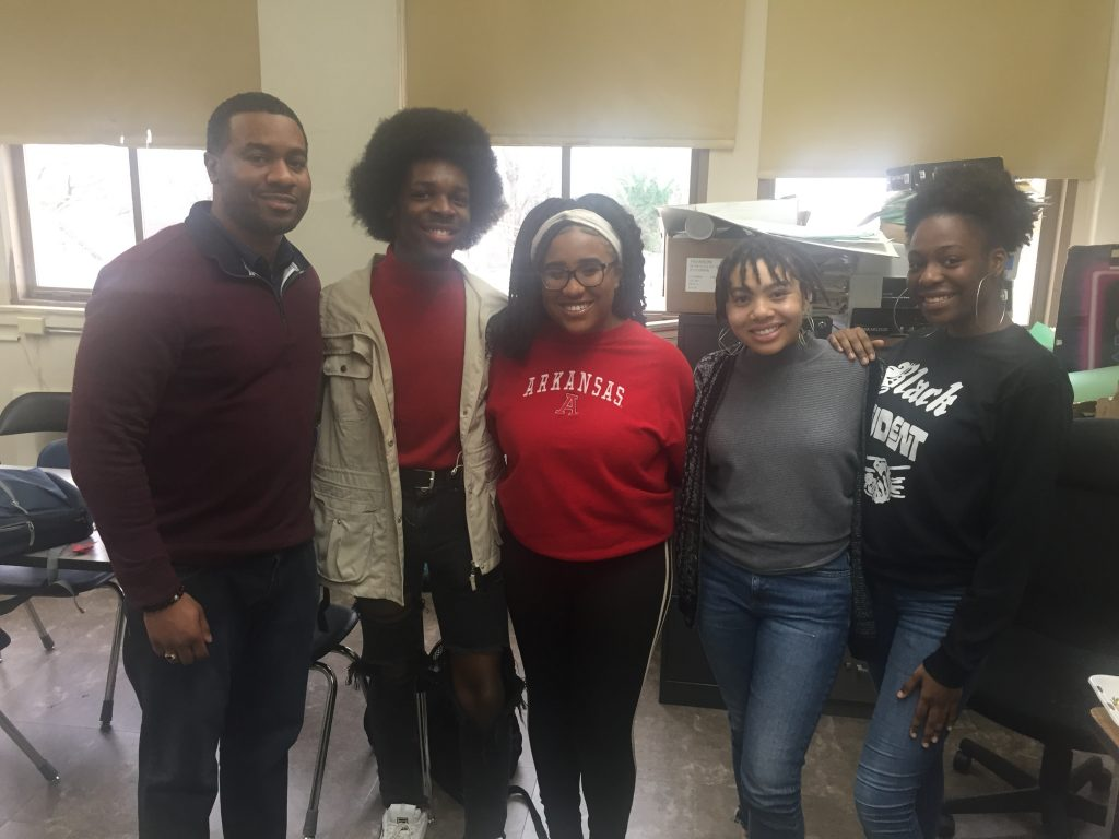 Guest Speaker for Central High School's Black Student Union's Lunch & Learn on College Admissions