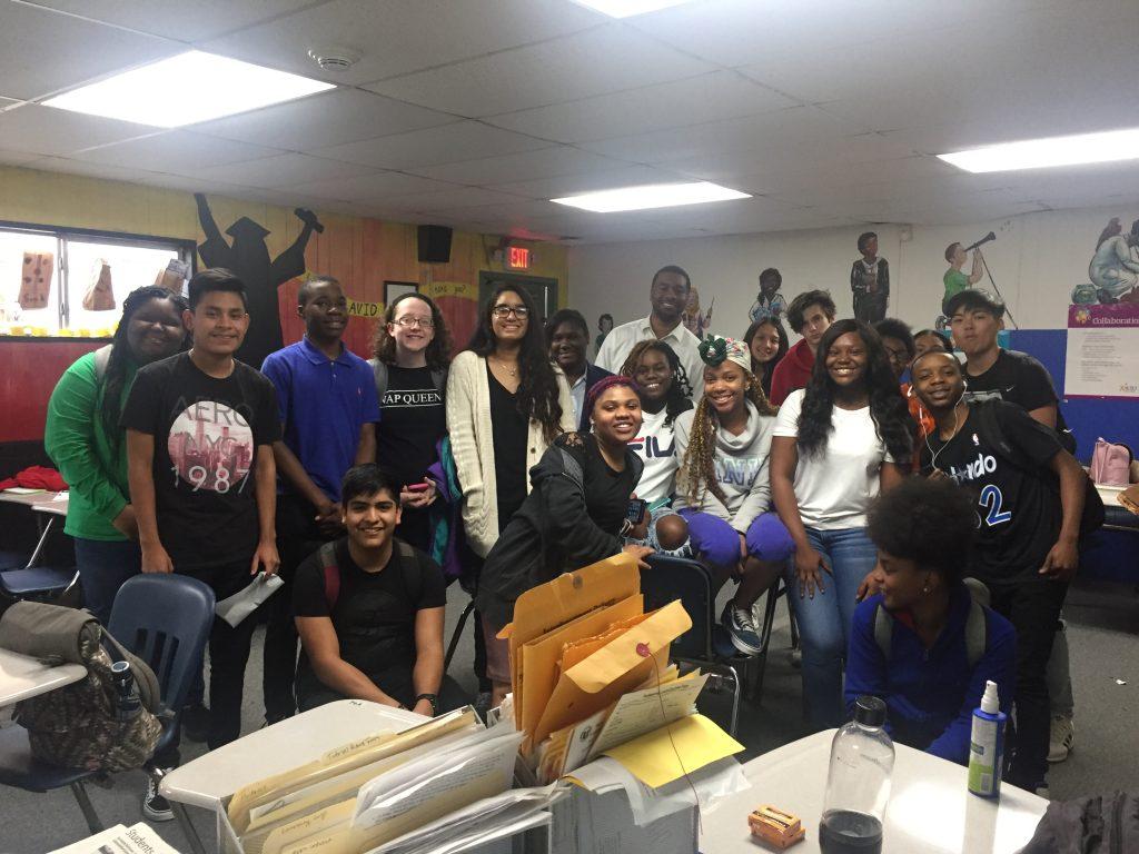 Little Rock Central: Post-admissions workshop photo