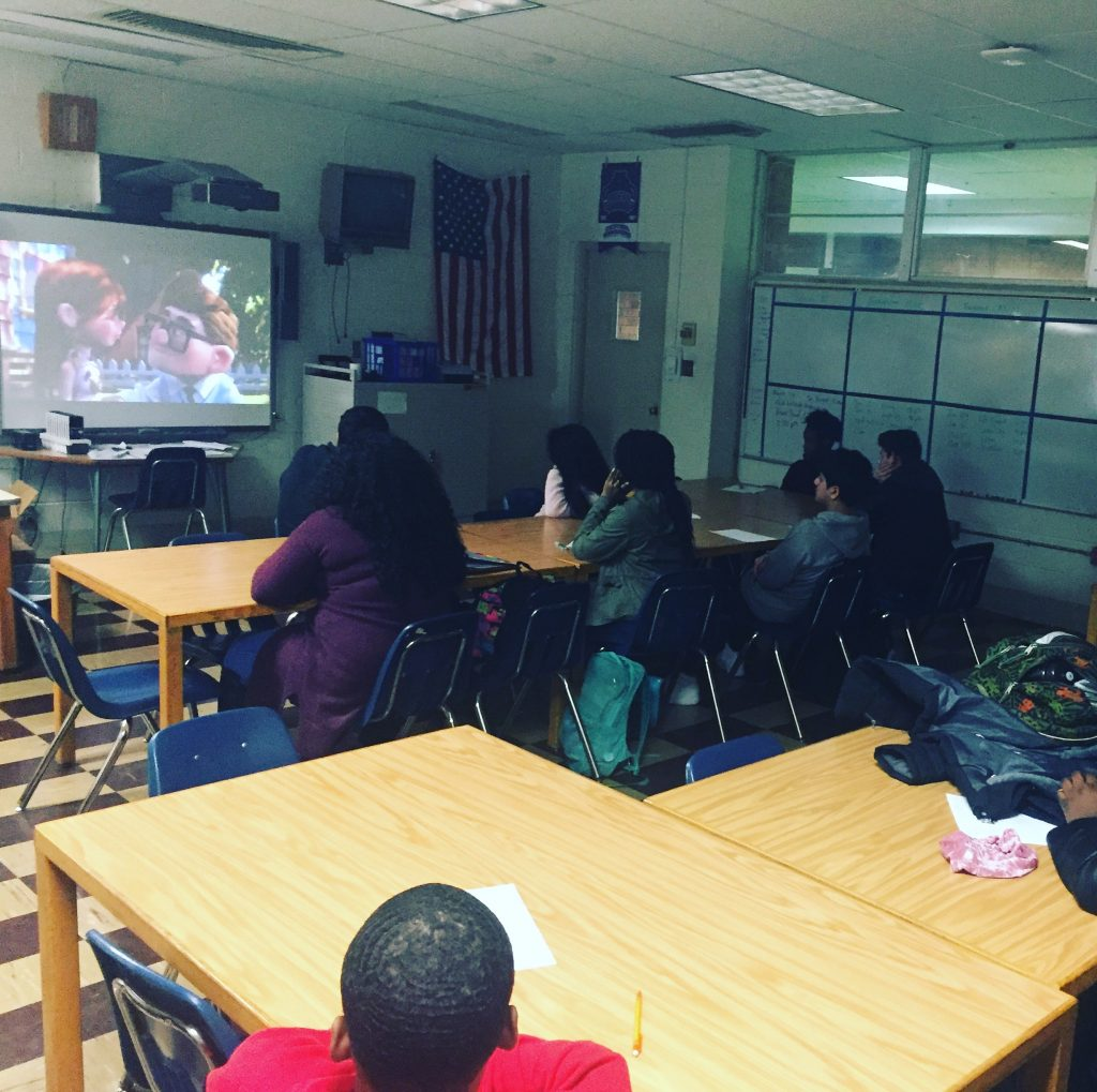 "Hall High School - Essay Writing Workshop. Learning ""narrative storytelling"" through media"